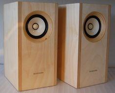 Orca by Blumenstein Audio Open Baffle Speakers, Wooden Speakers, Small Speakers, Bookshelf Speakers, Audiophile Speakers, Hifi Audio, Stereo Speakers, Sound Speaker, Audio Sound