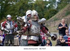 Medieval Festival At Tunbridge Castle In 2009 Stock Photo, Picture And Royalty Free Image. Pic. 25977569