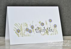 Stampin' Up ideas and supplies from Vicky at Crafting Clare's Paper Moments: 3 Minute Banner Blast - without a banner in sight!...