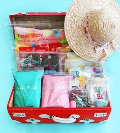 Набор пакетов 'Travel Story Zipper Bag'