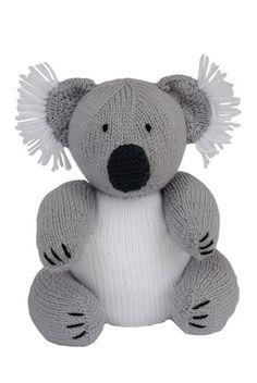 Australia Day - Free Koala Pattern - Knitting Magazine - Crafts Institute