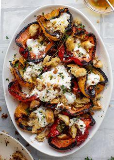 Vegetarian Recipes, Cooking Recipes, Healthy Recipes, Grilling Recipes, Vegetarian Tapas, Vegetarian Grilling, Healthy Grilling, Grilled Peppers, Good Food