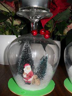 Winter in een glas