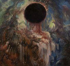 Post with 98 votes and 4631 views. The sinister artwork of Paolo Girardi Arte Horror, Horror Art, Dark Fantasy Art, Dark Art, Art Sombre, Lovecraftian Horror, Macabre Art, Occult Art, Creepy Art