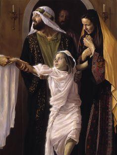 """""""Raising of the Daughter of Jairus"""" - Jeff Hein"""