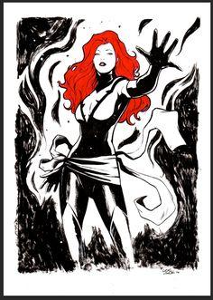 Jean Grey - Phoenix by Lee Garbett *