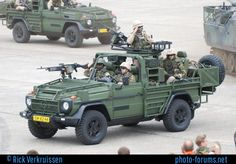 Dutch army demo