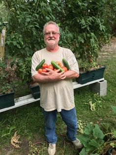 Congratulations Larry! – The 6th WEEKLY WINNER of our 2017 PHOTO CONTEST!  Last year Larry was one of our photo winners and it looks like he is still growing strong this year! Just imagine the wonderful fresh tomato cucumber salad Larry may be enjoying!  We will be selecting a weekly winning photo all summer long. These winners will be featured in a weekly email. Send your GrowBox™ pictures to photos@agardenpatch.com for a chance to win some great prizes!