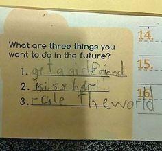 Amikor felnőtt leszek... | forrás: boredpanda.com