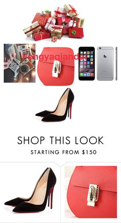"""""""Fengyaqiandai genuine leather bags20151221002"""" by houseofhello on Polyvore featuring Christian Louboutin"""