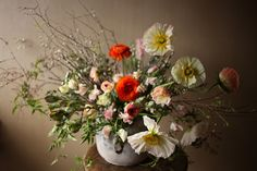 Love this website for floral design, poppies by Saipua