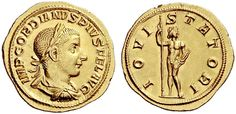 Roman Empire AV Aureus ND Rome Mint Gordianus III 238-44AD My coll.