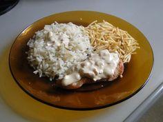 Receita de Filé de peito de frango com molho branco