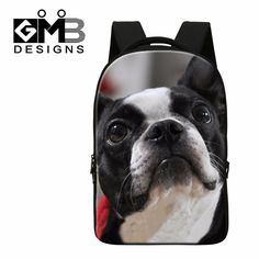 64840d3dae Cute Dog Printed Large Backpacks for Teen Boys Girly Mochilas School  Bookbags for College Students Fashion Laptop Back Pack New-in Backpacks  from Luggage ...