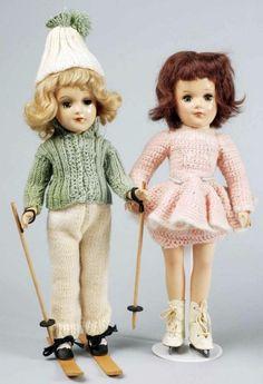 2 Sweet Mary Hoyer Dolls.