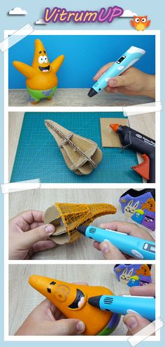 Using a cardboard base is super clever - Printer Pen - Ideas of Printer Pen - Using a cardboard base is super clever 3d Drawing Pen, 3d Drawings, Drawing Ideas, Boli 3d, 3d Pen Stencils, Stylo Art, 3d Drawing Techniques, 3 D, 3d Printing Diy