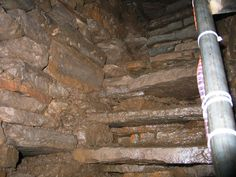 Second Set of Steps in Interior, Mine Howe, Mainland, Orkney, Scotland (J. Demetrescu 2007)