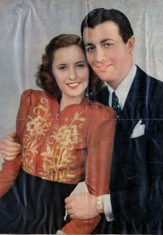 Barbara Stanwyck and Robert Taylor Hollywood Couples, Old Hollywood Stars, Vintage Hollywood, Hollywood Glamour, Classic Hollywood, Ronald Colman, Barbara Stanwyck Movies, Robert Taylor Actor, Fritz Lang