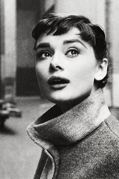 "vintagegal: "" Audrey Hepburn photographed by Mark Shaw, 1953 """