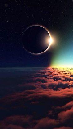 Eclipse Galaxy Wallpaper Iphone 6 Cellphone Cool Ideas