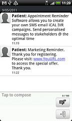 Detailed messages to help Patients step by step of the way  www.patient-reminders.com/patient-marketing-email-sms/     I found these images and thought others would find them terrific also