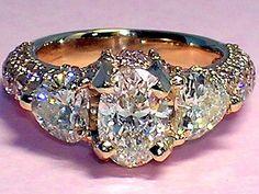 anillo de diamantes: