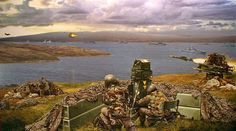 Rapier Missile at San Carlos in the Falklands