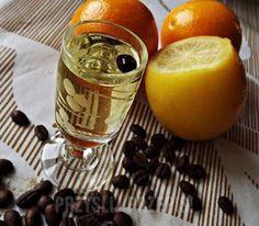 Cytrynówka z ziarnkiem kawy