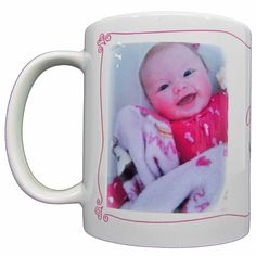 A Little Sugar with your Coffee this Morning! These photo mugs make the perfect gift for anyone! Just $13.99!