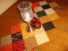 Quilting: Fall Table runner