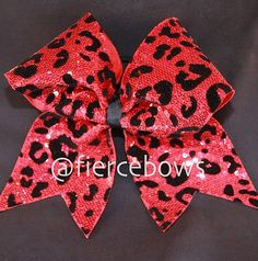 Love it... Cheer Bows