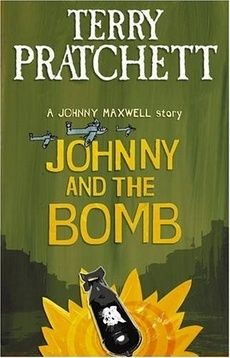 Johnny and the Bomb by terry Pratchett - Mrs Tachyon the bag-lady is not someone you'd normally choose to hang out with. But when Johnny and his friends find her semi-conscious in an alley, they have to do something... as long as it's not the kiss of life.  But Mrs Tachyon isn't the ranting old nutter everyone thinks she is. She holds the key to different times, different eras - including the 1941 Blitz.  Time shifts - if Johnny changes the past, will it change the future?