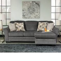 Ebern Designs Colegrove Right Hand Facing Sectional Sectional Ottoman, Sleeper Sectional, Modern Sectional, Corner Sectional, Chaise Sofa, Couch, Best Sectionals, Sofa Furniture, Furniture Shopping