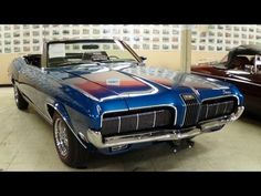 1970 Mercury Cougar Convertible 351 Windsor V8 - Nicely Restored - YouTube