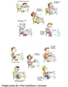 Politesse a table