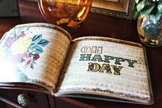Oh Happy Day A Little Bird Told Me Gift Book (Vol. 1)