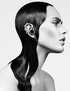 Frida Gustavsson by Steven Pan for Interview September 2013