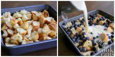 Mix drie grote croissants met fruit en melk en maak iets onweerstaanbaar lekkers!