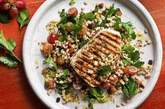 An aromatic blend of spices makes this easy chargrilled swordfish taste sensational.