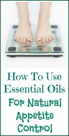 How to use essential oils to curb your appetite and potentially lose weight.