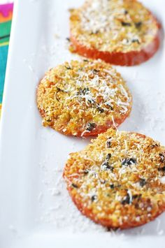 Easy Baked Cheesy Garlic Bread Tomatoes Recipe...definitely making this!