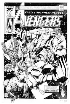 Avengers by Arthur Adams