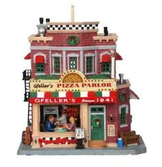 Carole Towne Gfeller's Pizza Parlor Lighted Building