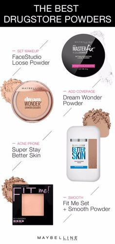 Best Drugstore Makeup Dupes- The Best Drugstore Powder - Simple DIY Tutorials That Cover The Best Drugstore Dupes And Products For Foundation, Contouring, Lipsticks, Eye Concealer, Products For Oily Skin, Dupe Brushes, and Primers From 2016 And Places Like Target. These Are Cheap And Affordable - http://thegoddess.com/best-drugstore-makeup-dupes #skincareproductsforoilyskin