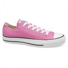 56ccf24c7272 Converse Unisex Chuck Taylor All Star Seasonal Pink Sneaker - 8 Men - 10  Women