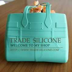 cute silicone handbag