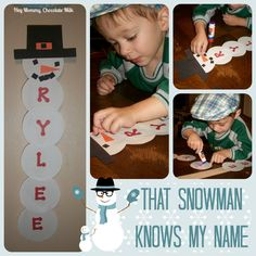 Hey Mommy, Chocolate Milk: That Snowman Knows My Name