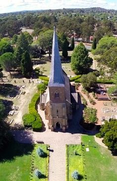 St John's Church in #Canberra, #Australia. Consecrated in 1845. http://www.travelmagma.com/australia/things-to-do-in-canberra