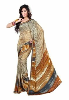 Fabdeal Indian Designer Georgette Crepe Yellow Printed Saree Fabdeal, http://www.amazon.de/dp/B00INWP6H4/ref=cm_sw_r_pi_dp_uv7otb1NZXBGY
