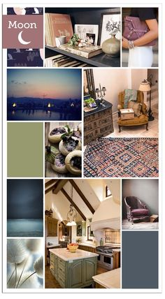 MoonColorBoard. Moon colors are graceful, with a balance of softness and depth.